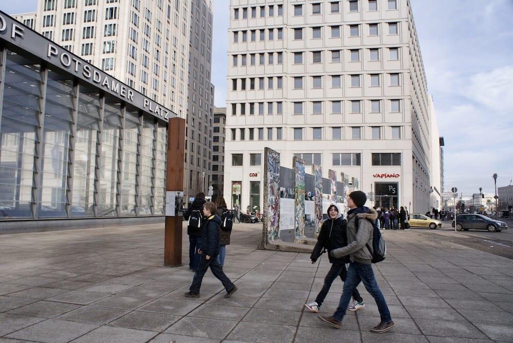 Berlin Wall Potsdamer platz
