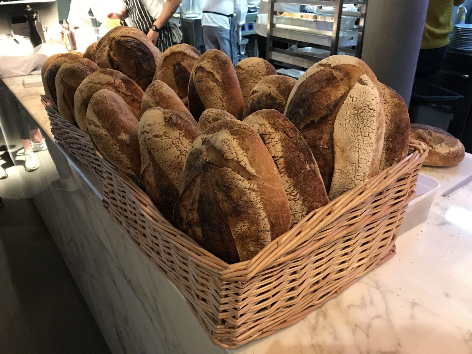 Sugo fresh pasta Glasgow Sourdough bread