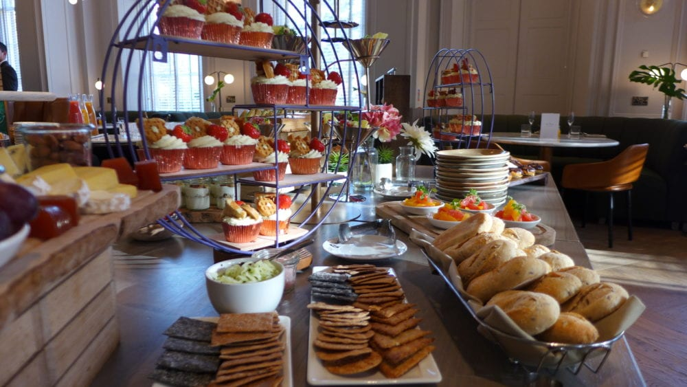 bo and birdy glasgow blythswood square pancake station luxuty brunch