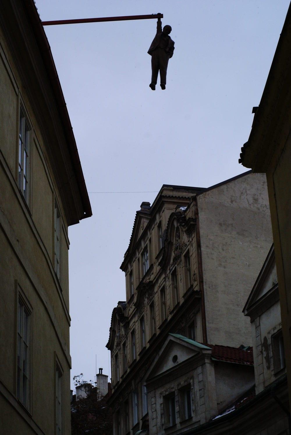david cerny hanging around freud
