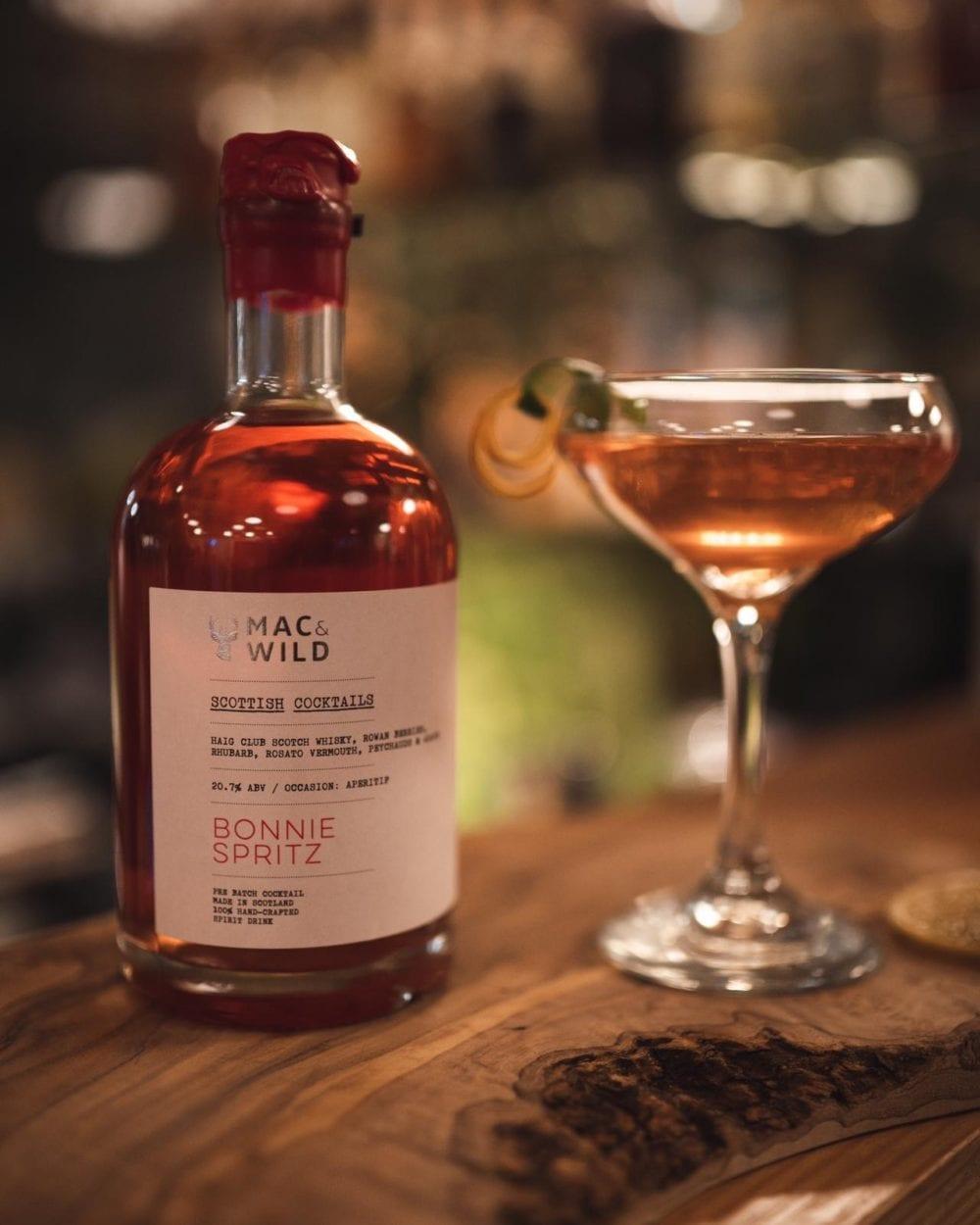 bonnie spritz mac and wild cocktails