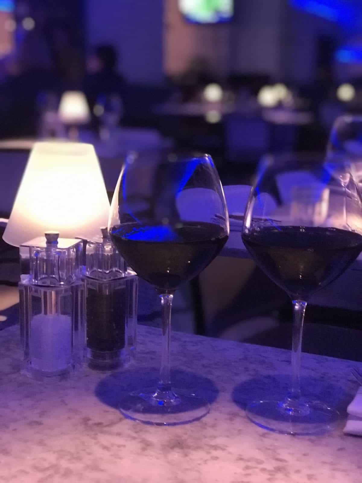 Alston bar and beef Glasgow wine