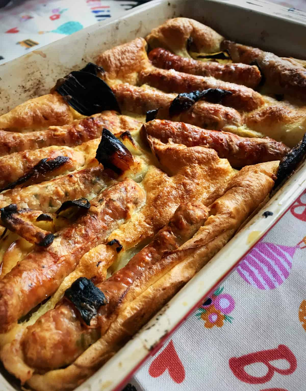 toad in the hole winter comfort food recipe