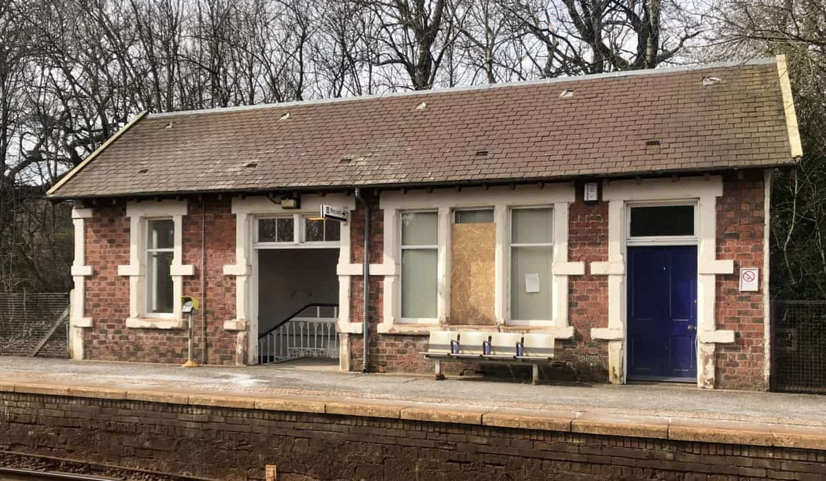 Pollokshaws west railway station