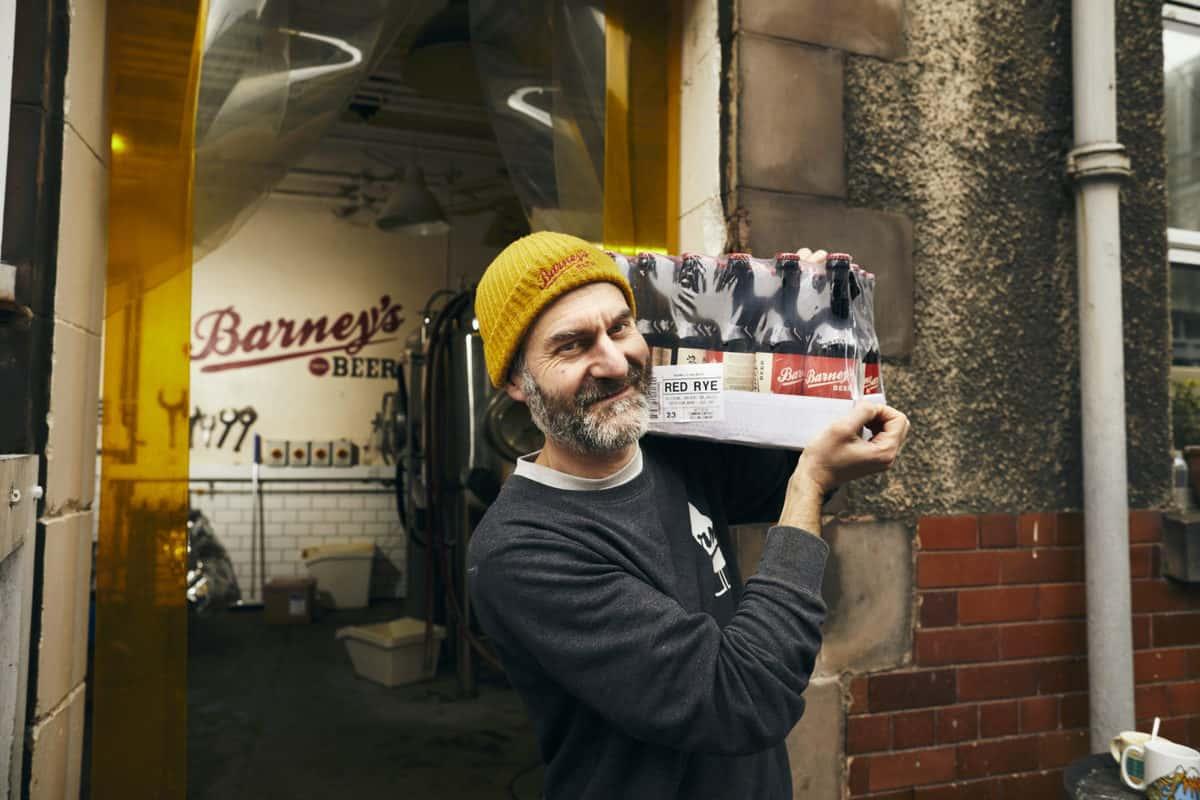 Barneys beer edinburgh