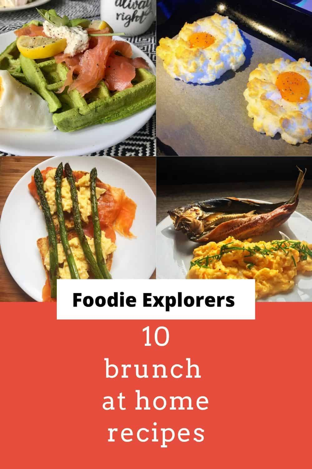 10 brunch at home recipes