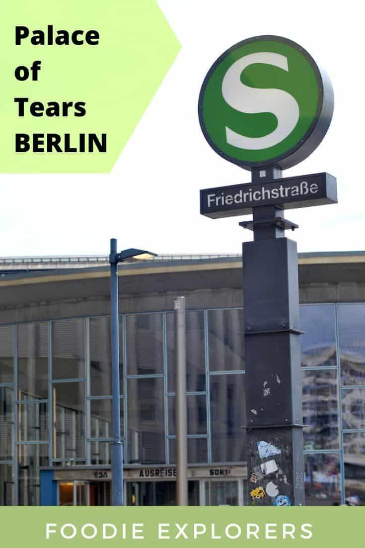 Berlin palace of tears