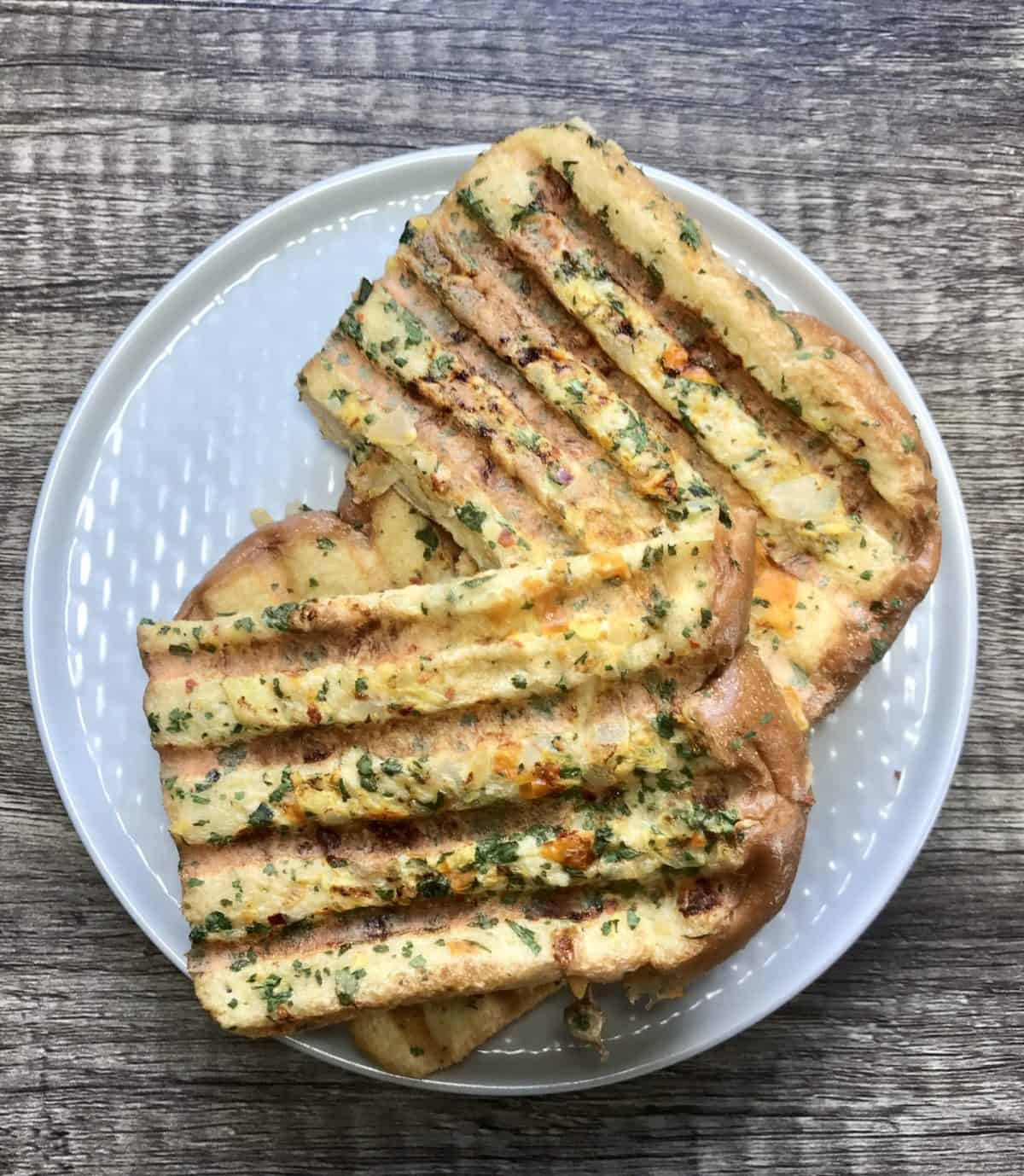 Indian Eggy Bread recipe