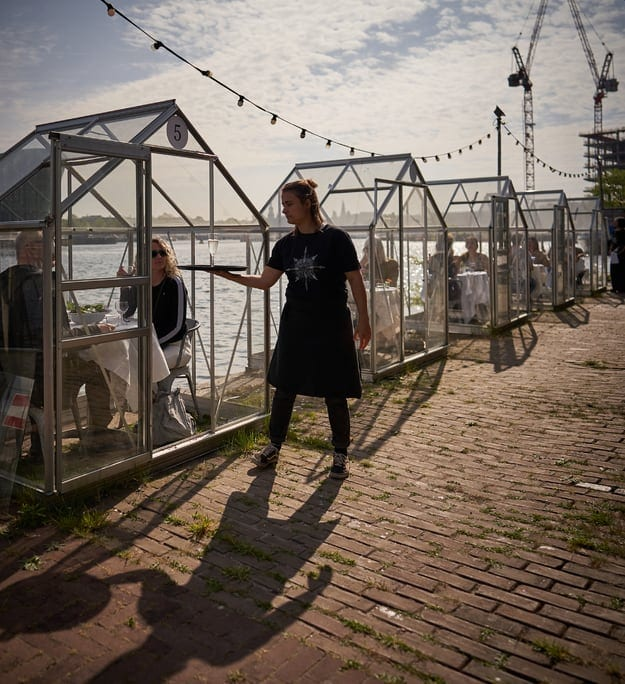 Greenhouse restaurant Amsterdam