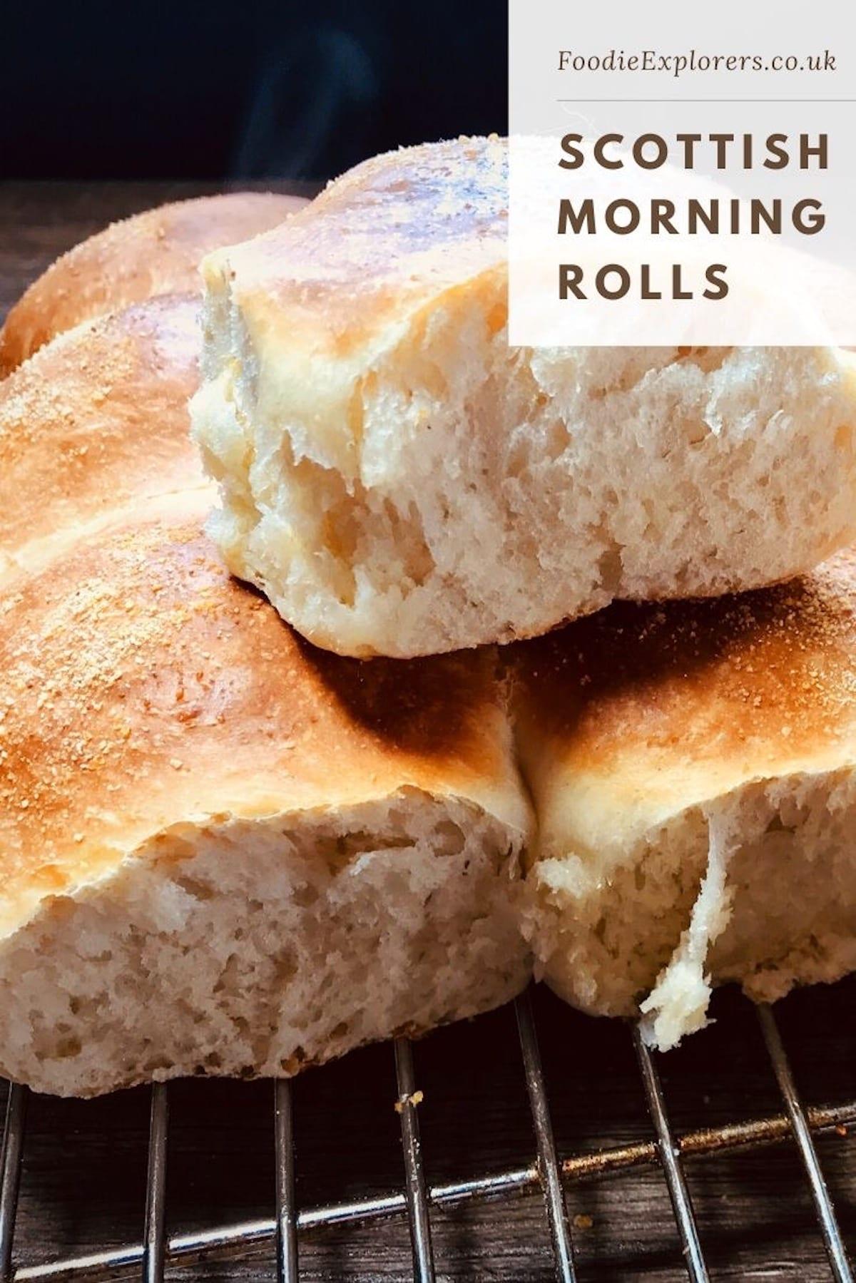 scottish morning rolls recipe