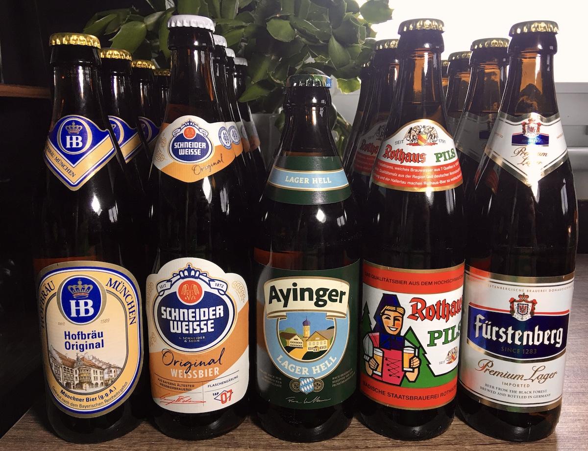 Beer town German beers