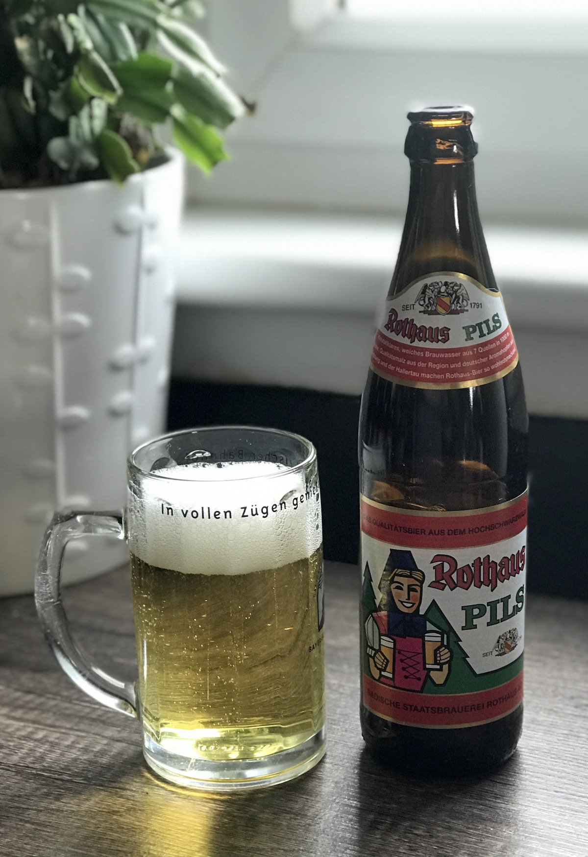 The beer town rothaus pils