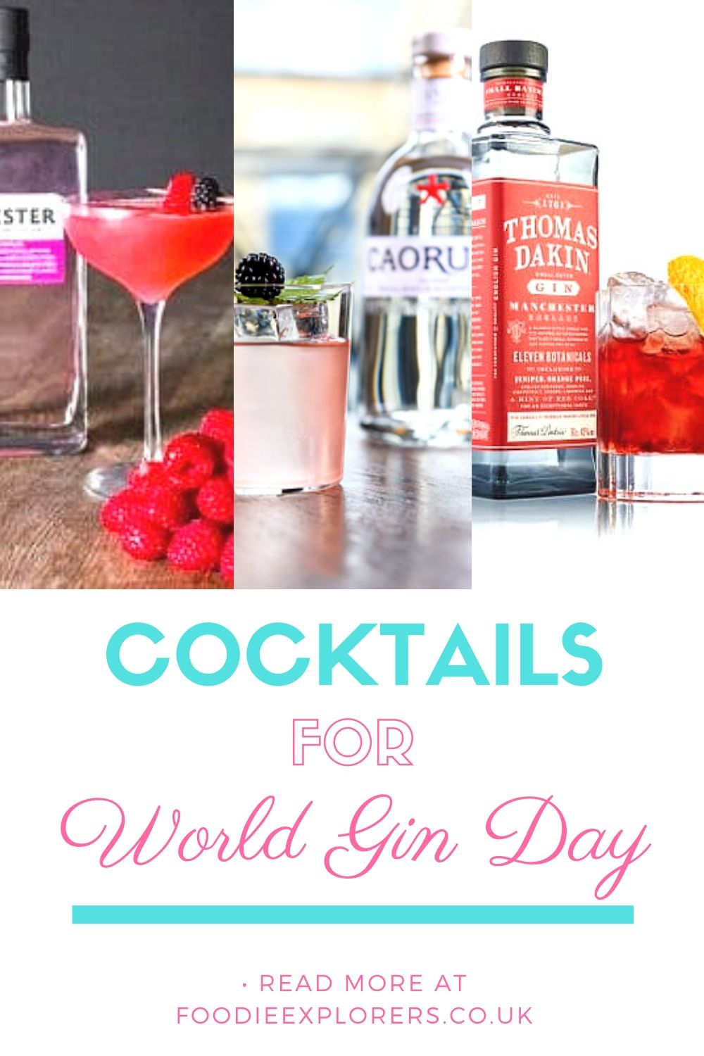 world gin day cocktails