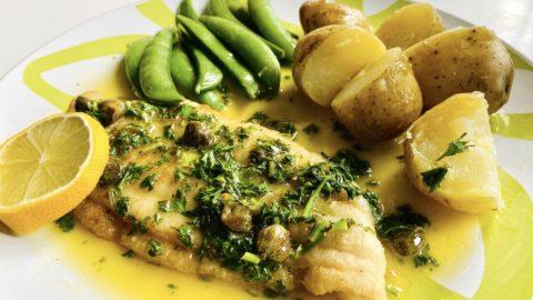 poisson meunière fish in butter 3