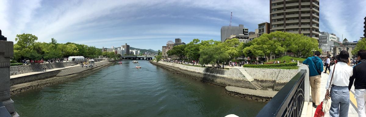 Hiroshima River Panorama