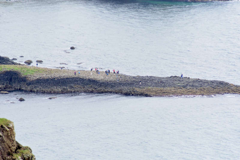 Away a wee walk - Giant's causeway from above