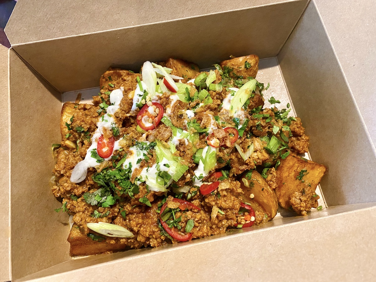cathedral house hotel loaded fries