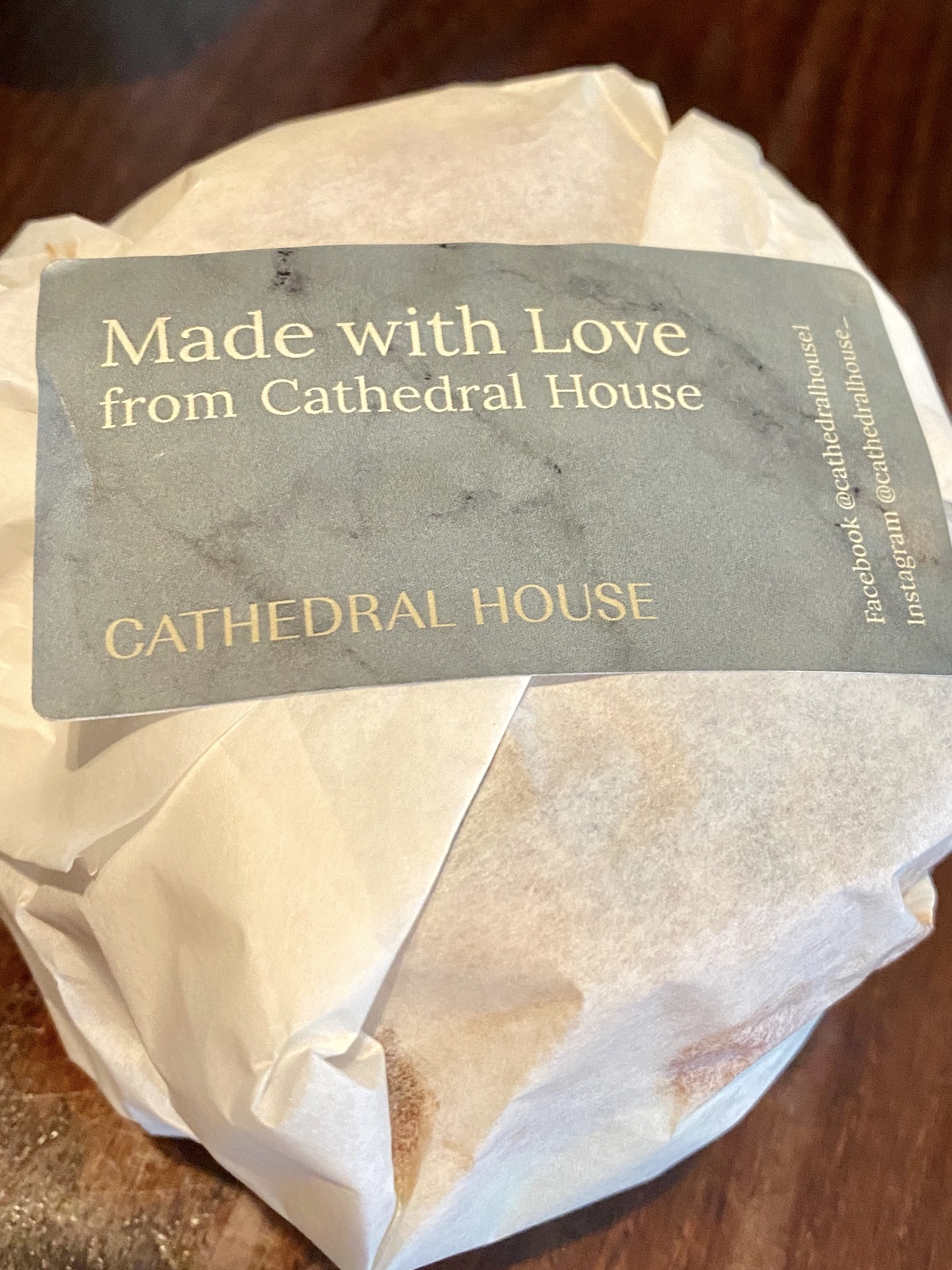 made with love sticker cathedral house hotel