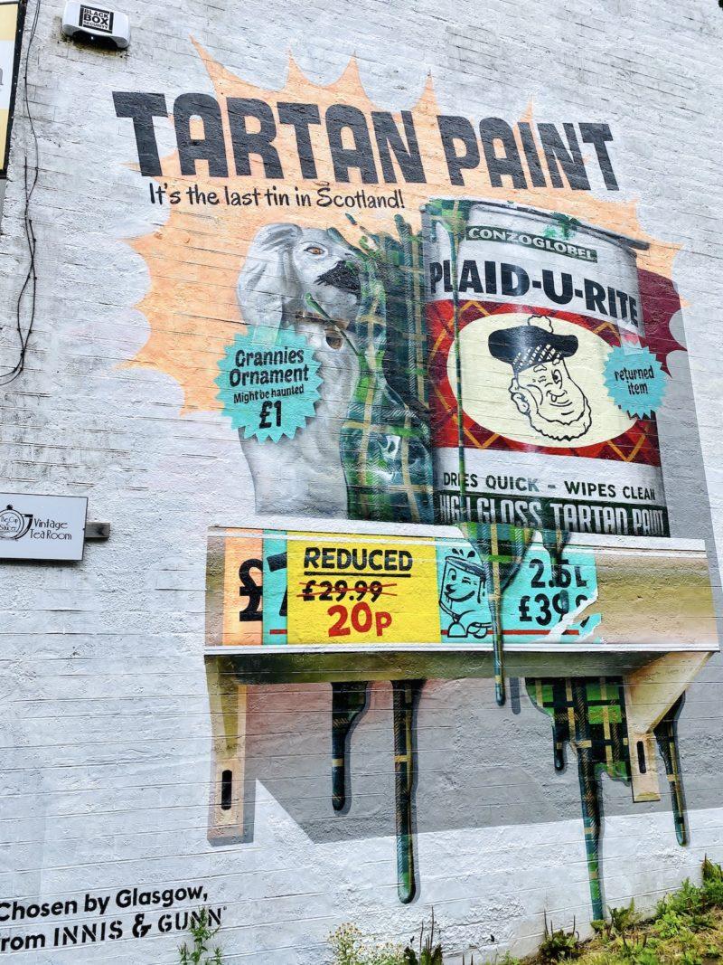 tartan paint