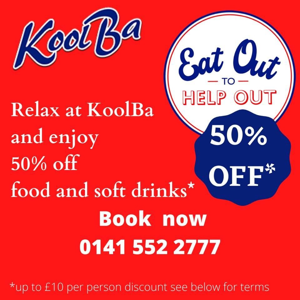 KoolBa Glasgow Discount September