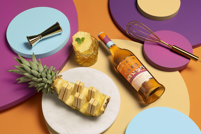 Glenmorangie A Tale of Cake and Dominique Ansel layered pineapple cake