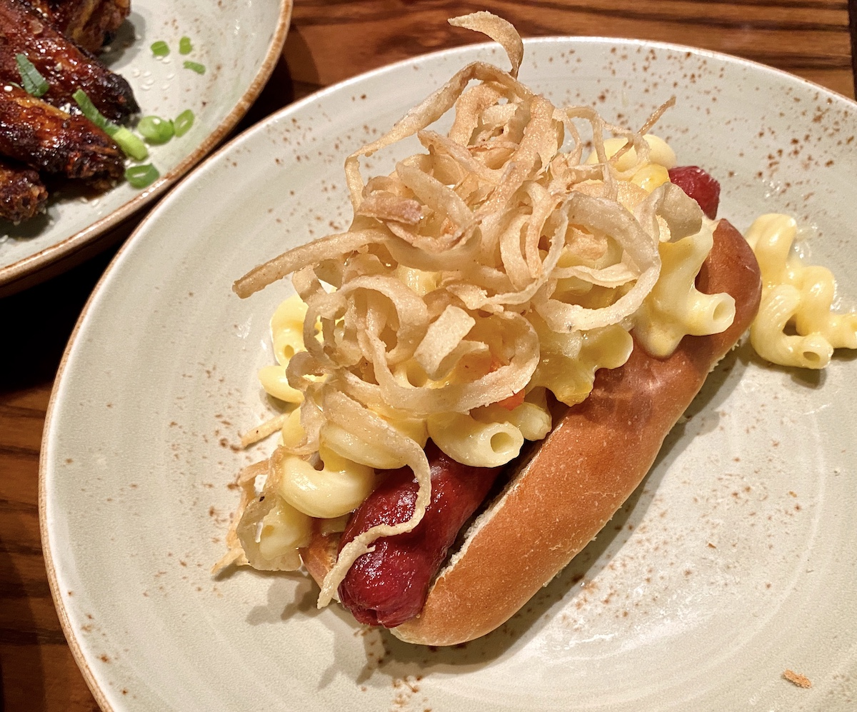 Hard Rock Cafe Festival 2020 mac and cheese dog