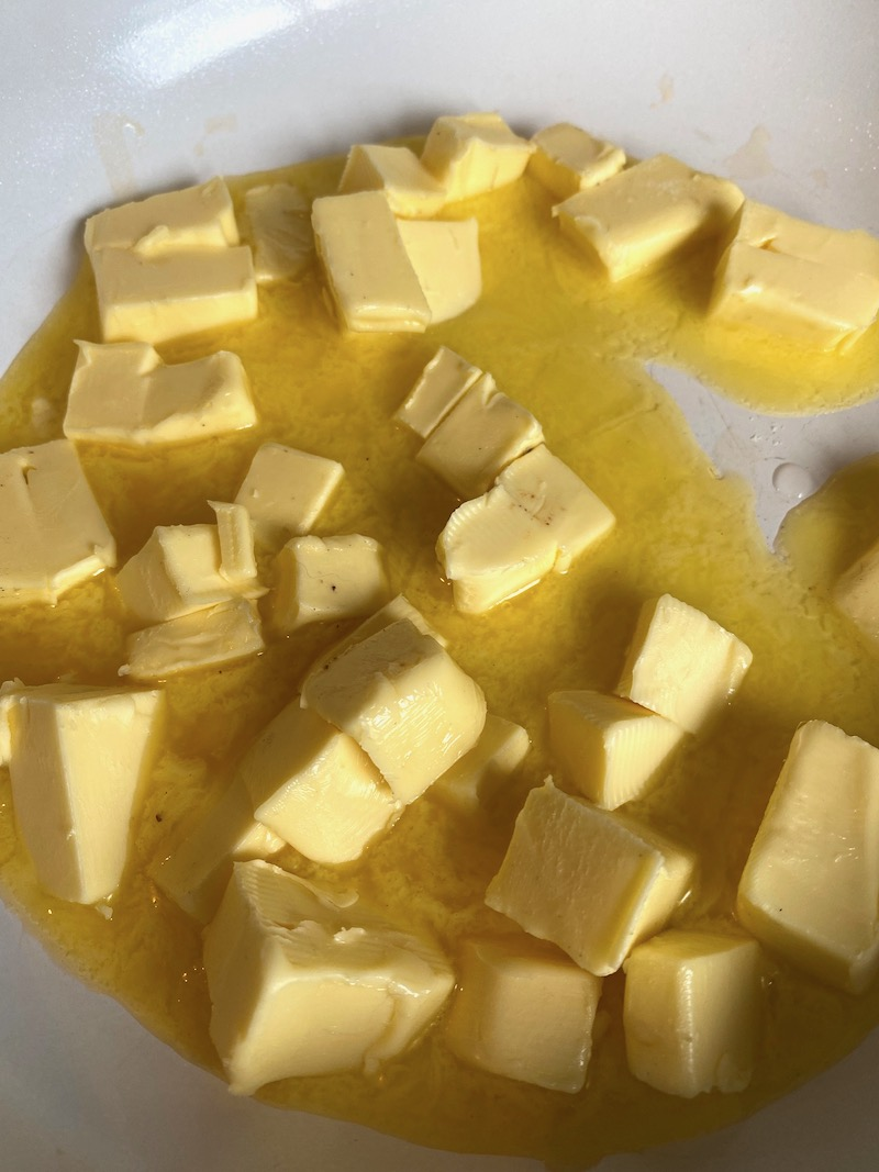 brown butter beurre noisette butter chunks