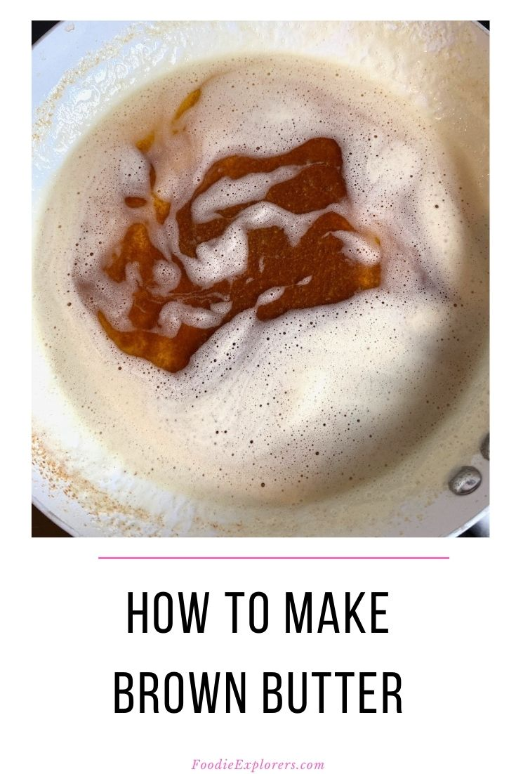 brown butter pinterest pin