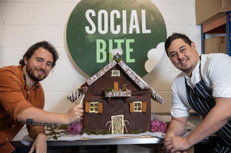 Social bite boxes of joy brownies