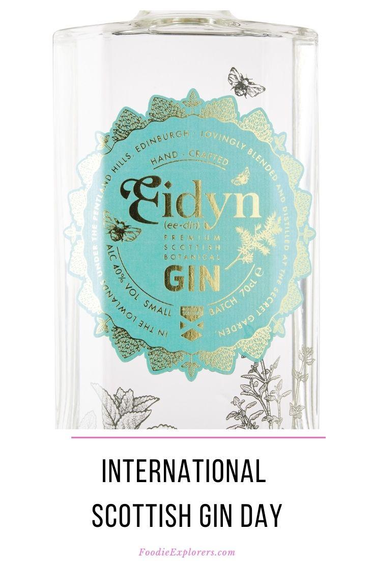 Foodie Explorers International Scottish Gin Day 2020 Pinterest