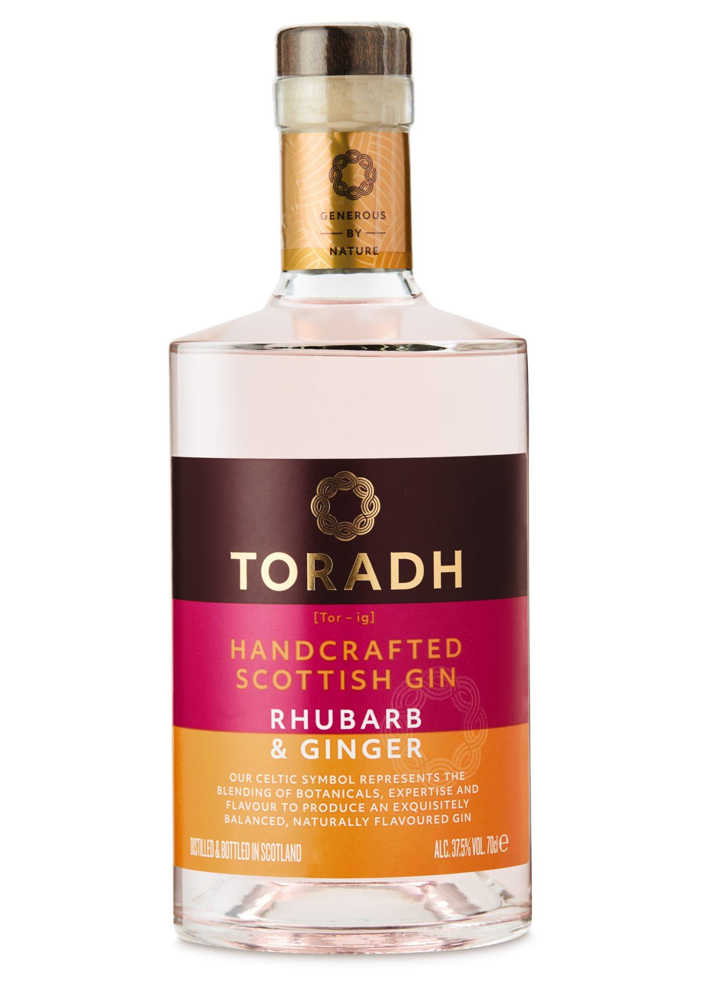 Toradh Rhubarb and Ginger Gin