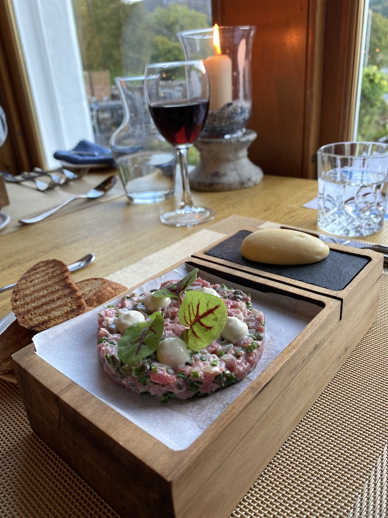 achray house beef tartare