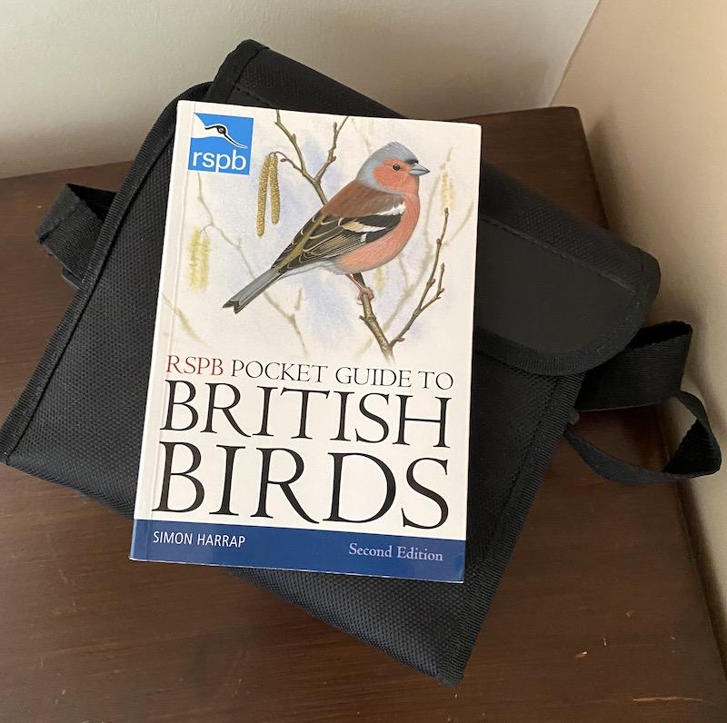 achray house birds and binoculars