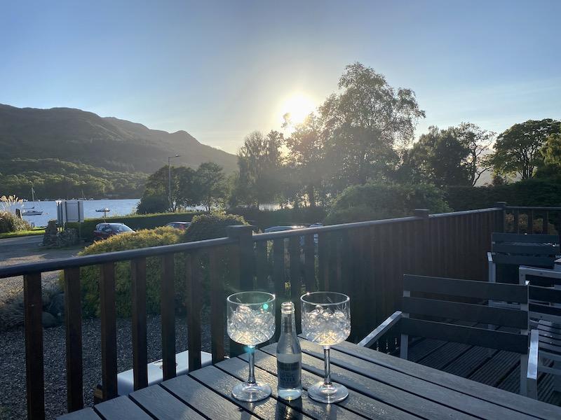achray house gin view