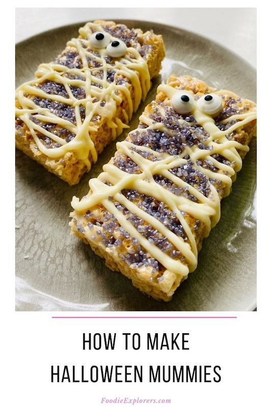 foodie explorers halloween mummies pinterest