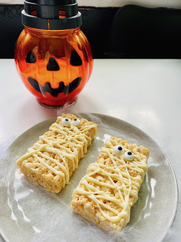 foodie explorers halloween mummies