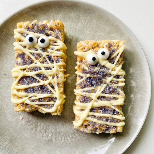 foodie explorers sparkly halloween mummies