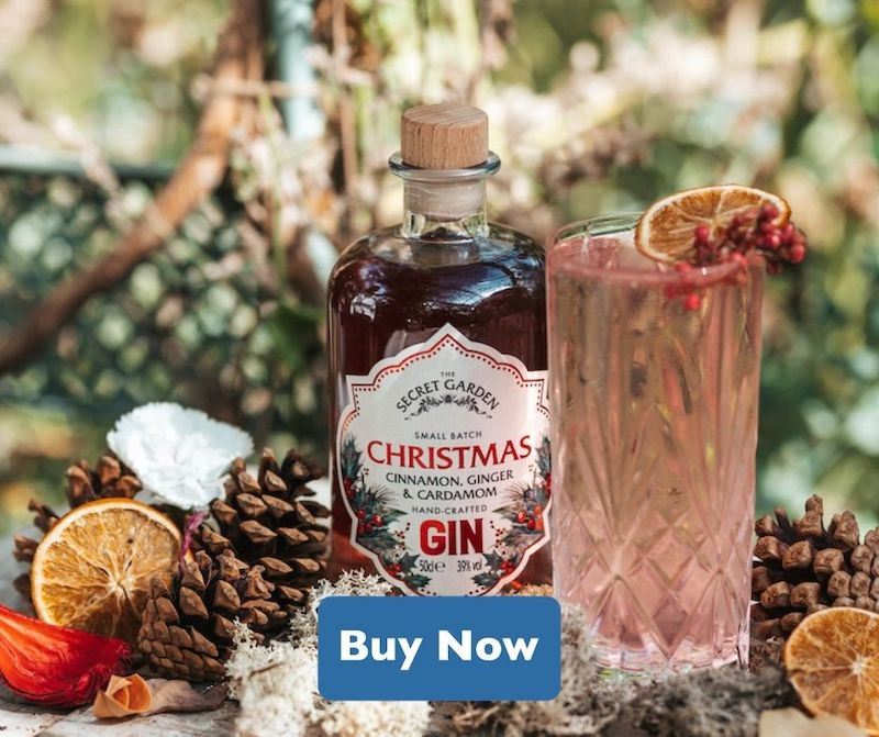 secret herb garden christmas gin