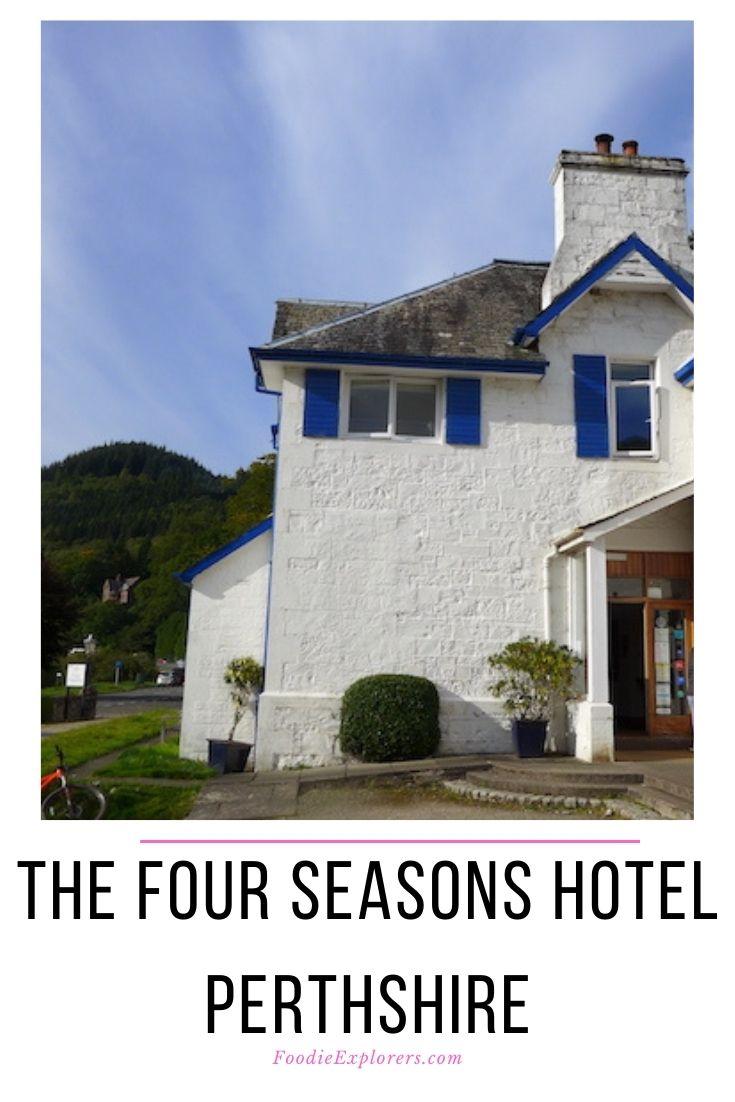 the four seasons hotel perthshire pinterest pin