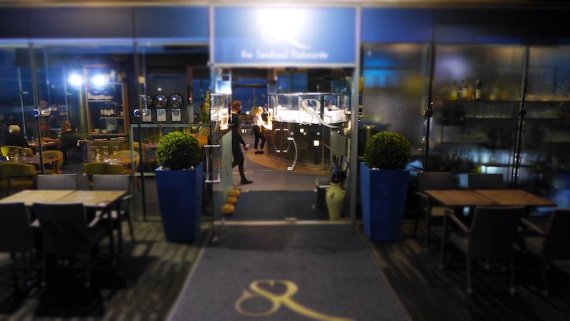 the seafood ristorante outside