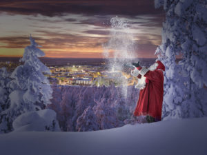 Santa visit Finland