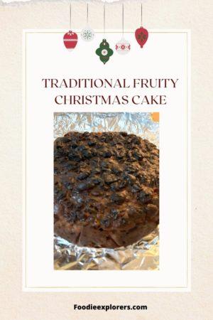 christmas cake homemade