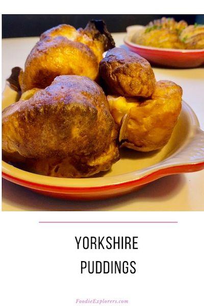 Foodie Explorers Yorkshire Puddings Pinterest