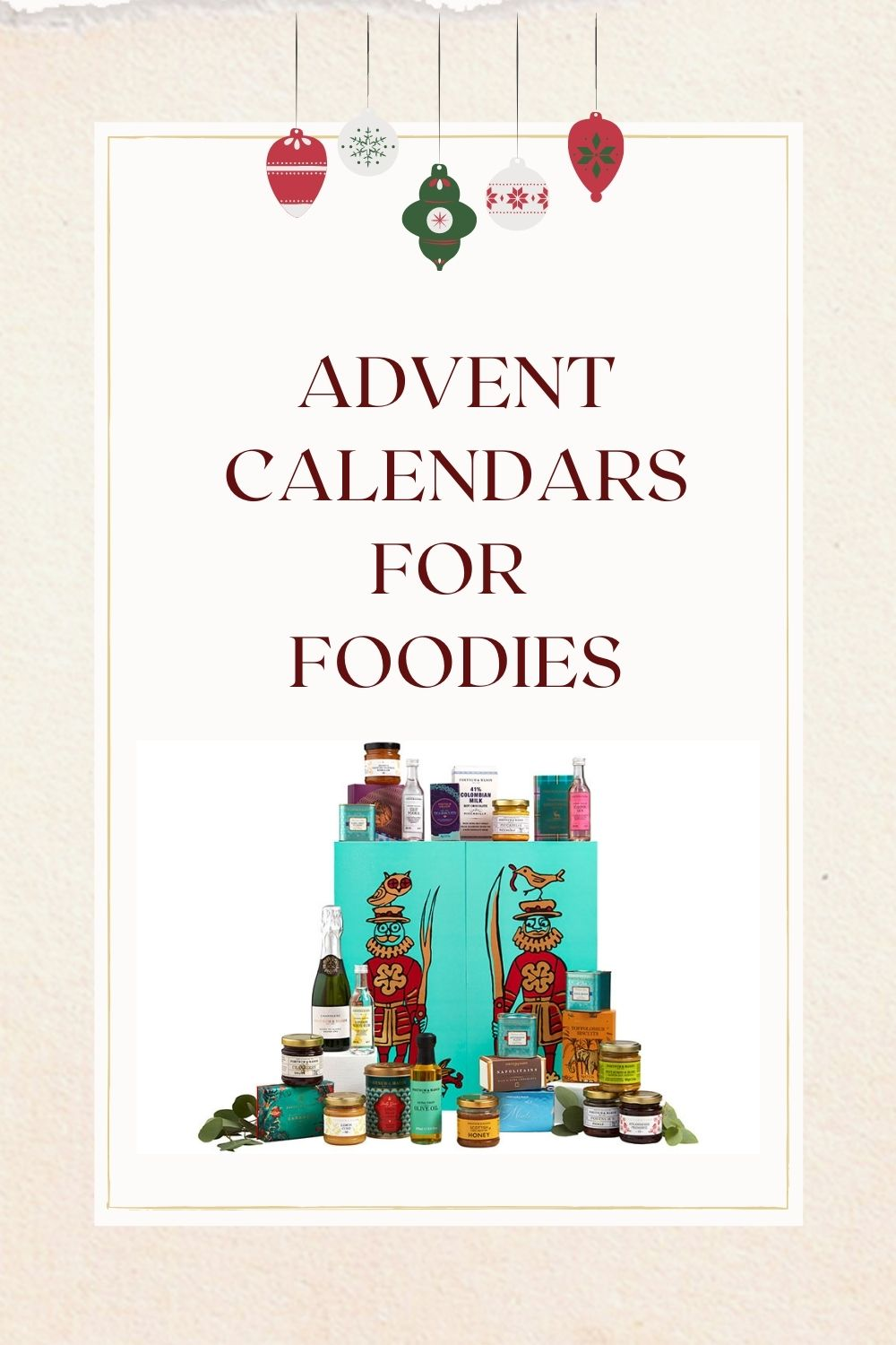 foodie explorers foodie advent calendar pin