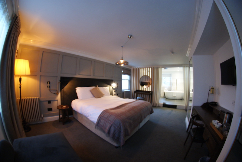 the black bull sedbergh bedroom panorama
