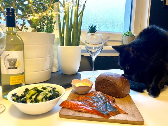 Haar at home luxury winter dinner