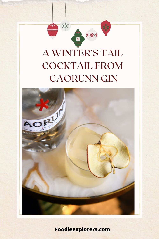 A winter's tail from caorunn gin