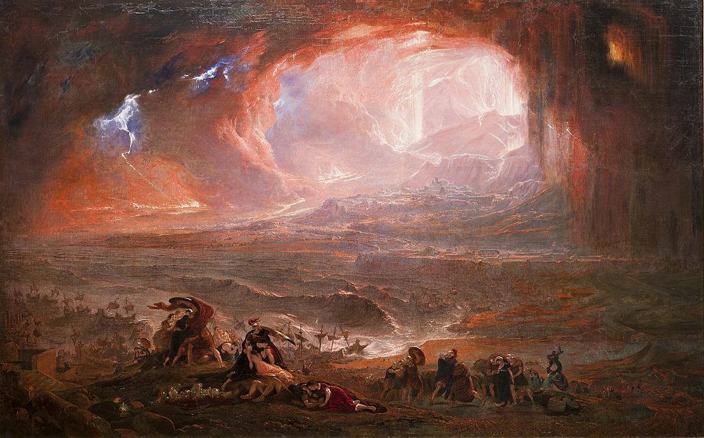 The Destruction of Pompeii and Herculaneum (c. 1821) by John Martin