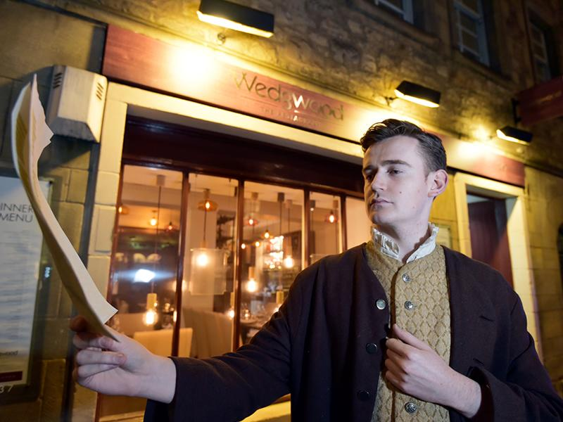 Wedgwood the restaurant burns