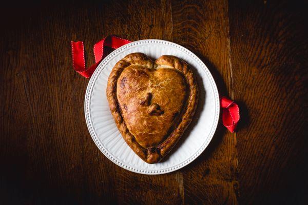 Valentines pastie pasty